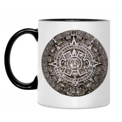 Кружка ``Календарь ацтеков``
