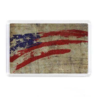 Магнит Америка, флаг