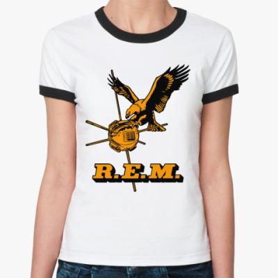 Женская футболка Ringer-T R.E.M.