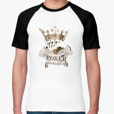 Футболка реглан Poker korona
