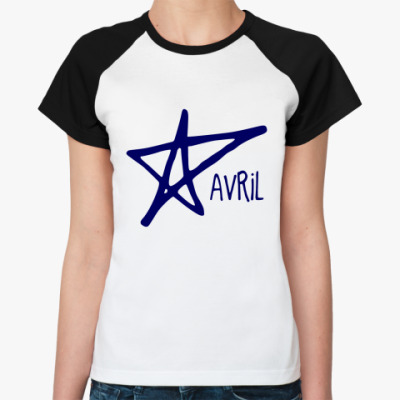 Женская футболка реглан AVRIL
