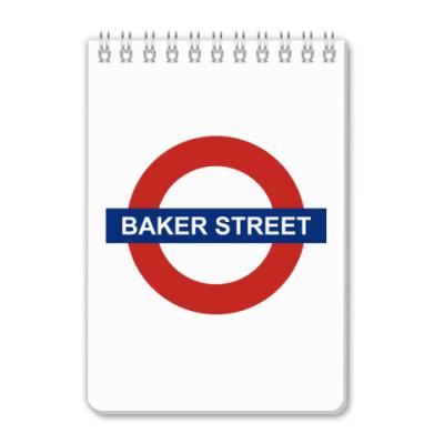 Блокнот Baker street