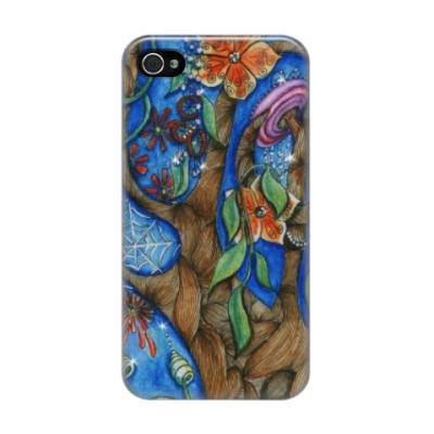 Чехол для iPhone 4/4s волшебный лес