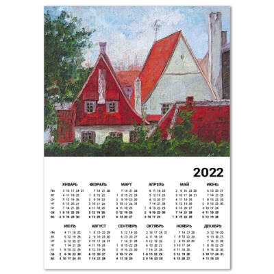 Календарь Таллинские крыши