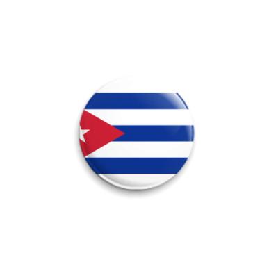 Значок 25мм  Куба ()