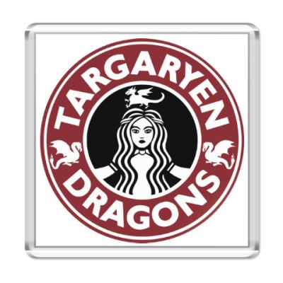 Магнит Драконы Таргариен
