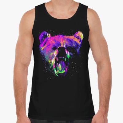 Майка Абстрактный медведь