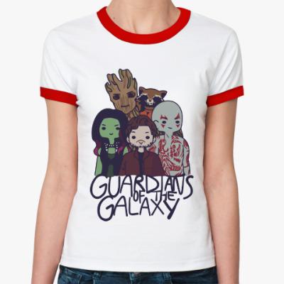 Женская футболка Ringer-T Стражи галактики