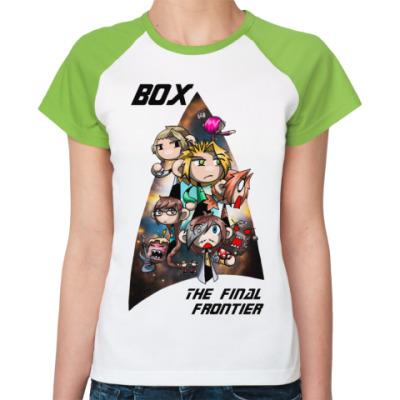 Женская футболка реглан TheFinalFrontier