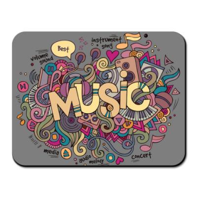 Коврик для мыши 'Music'