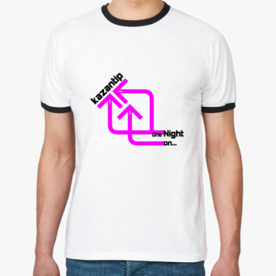 Футболка Ringer-T kaZantip