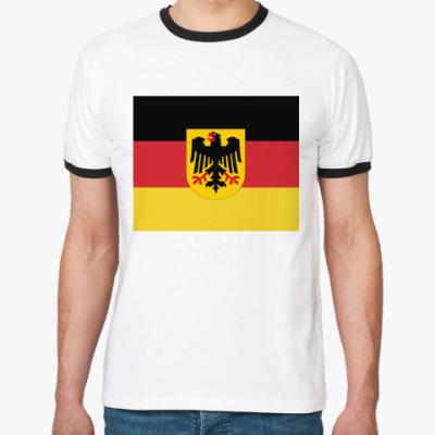 Футболка Ringer-T Deutschland!