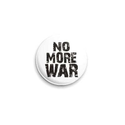 Значок 25мм Нет войне