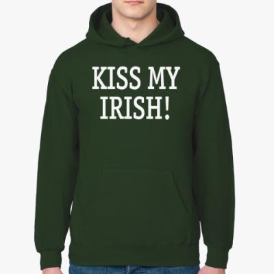 Толстовка худи Kiss my irish!