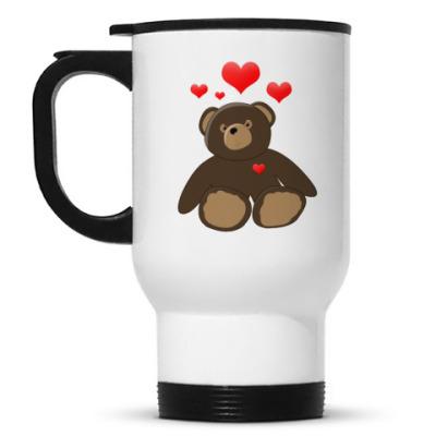 Кружка-термос Teddy in love Кружка-