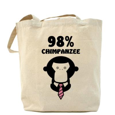 Сумка 98% шимпанзе