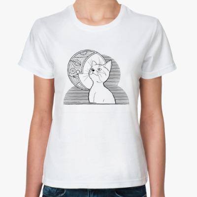 Классическая футболка Cat&moon