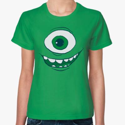 Женская футболка Майк Вазовский (Корпорация монстров)