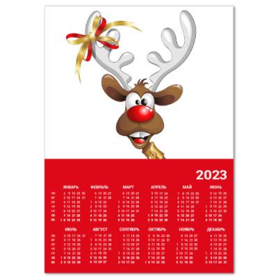 Календарь Календарь A4 2016, красный