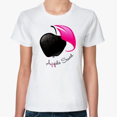 Классическая футболка Apple Sweet