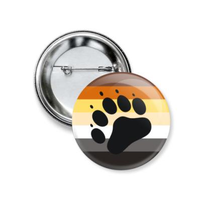 Значок 37мм  Bear Pride