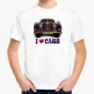 Детская футболка ретро автомобиль