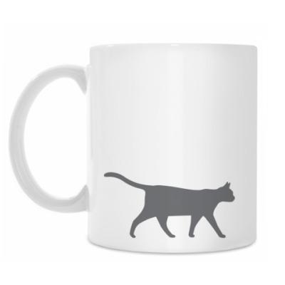 Кружка Серая кошка