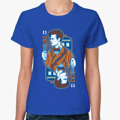 Женская футболка Одиннадцатый Доктор
