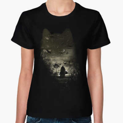 Женская футболка Лорд Сноу
