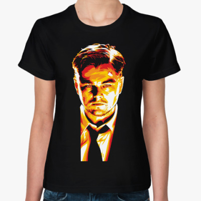 Женская футболка Леонардо Ди Каприо