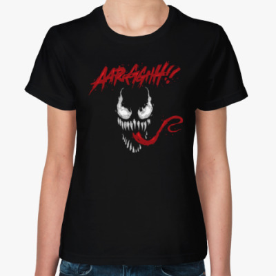 Женская футболка Venom (Веном)
