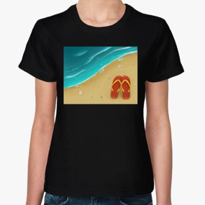 Женская футболка для любителей моря