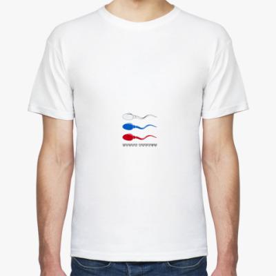 Футболка Донор спермы (Россия)