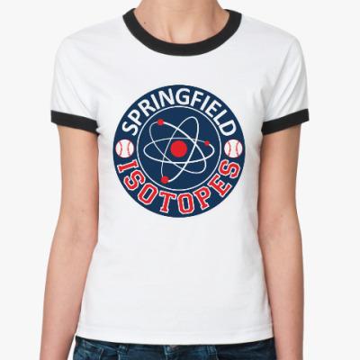 Женская футболка Ringer-T The Simpsons