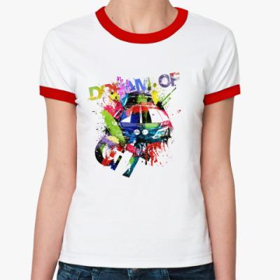 Женская футболка Ringer-T GT  ж ()