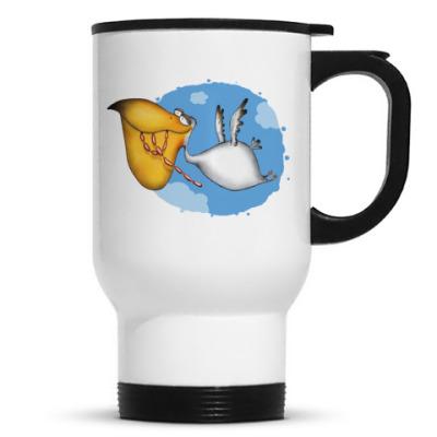 Кружка- Пеликан