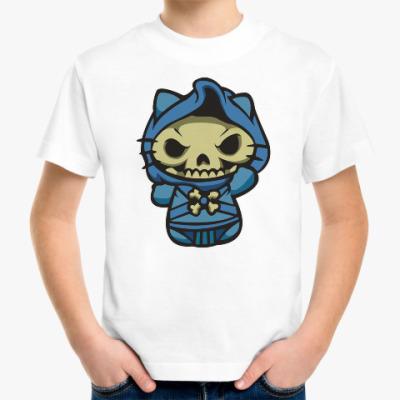 Детская футболка Kitty Скелетор