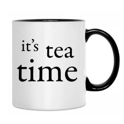 """Кружка """"it's tea time"""""""
