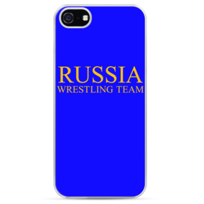 Чехол для iPhone RUSSIA WRESTLING TEAM