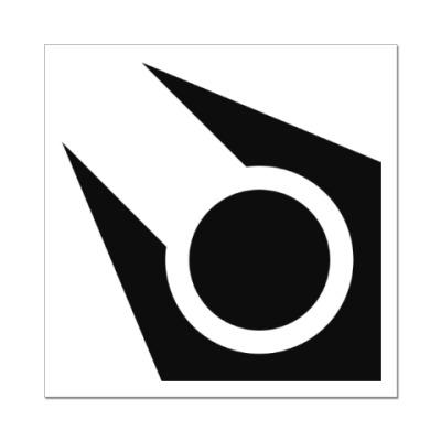 Наклейка (стикер) Символ