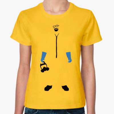 Женская футболка Хайзенберг (Во все тяжкие)