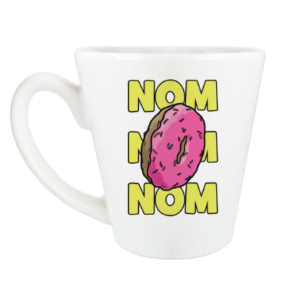 Чашка Латте пончик donut!