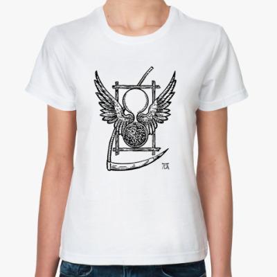 Классическая футболка ``Символ Времени Дюрера`` Ж.