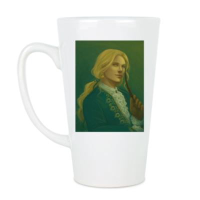 Чашка Латте золотой шут