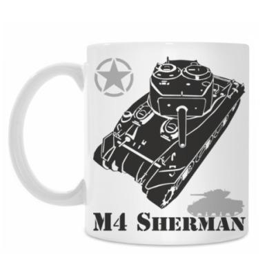Кружка Американский танк M4 Sherman