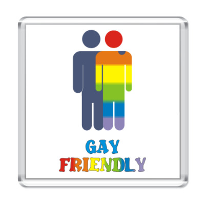 Магнит  'Gay Friendly'