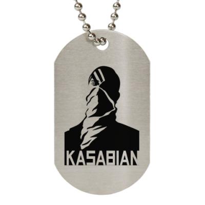 Жетон dog-tag Kasabian