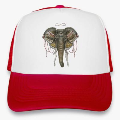 Кепка-тракер Индийский слон