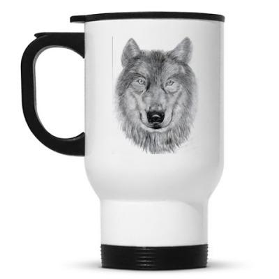 Кружка-термос Волк