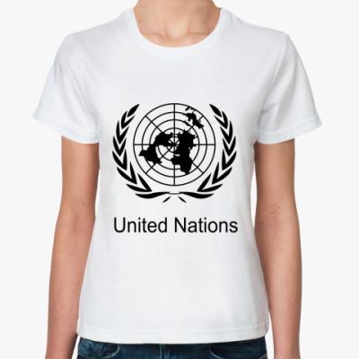 Классическая футболка ООН
